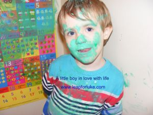 A little boy in love with life despite Duchenne